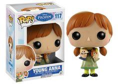 Jual Funko POP! Disney: Frozen - Young Anna  Harga: Rp 220.000 Maker: Funko