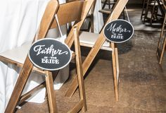 #coolchairsigns Wedding Props, Father Of The Bride, Wedding Accessories