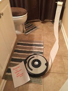 Roomba shaming