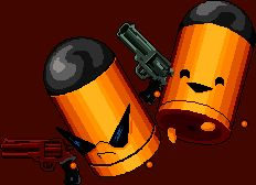 Trigger Twins (Keep of the Lead Lord) - Enter the Gungeon