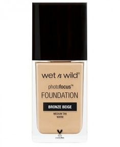wet n wild Photo Focus Foundation, Bronze Beige, 1 Fluid Ounce Mac Foundation, Natural Foundation, Flawless Foundation, Double Wear Estee Lauder, Maybelline, Wet N Wild Beauty, Cocoa, Photo Focus, Makeup Products