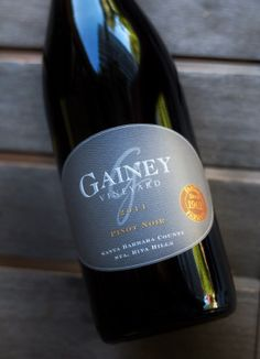 2011 Gainey Vineyard Sta. Rita Hills Pinot Noir Santa Barbara County, In Vino Veritas, Pinot Noir, Wine Recipes, Vineyard, Bottle, Wine, Accessories, Flask