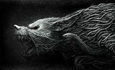Wolf  werewolf HD Wallpaper