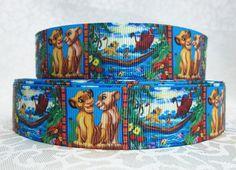 5 YDS Lion King Hakuna Matata Ribbon by DCLRibbons on Etsy