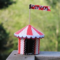 Paper Mache Circus Tent by Beverlys.com