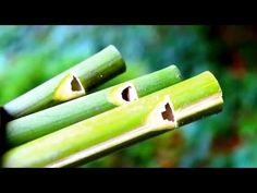 How to make a Flute or Swanee Slide Whistle out of Bamboo - Sensory Lear...