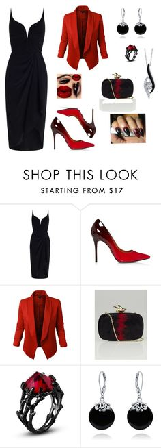 """Nightout!"" by mireille-a ❤ liked on Polyvore featuring Zimmermann, Givenchy, Bling Jewelry, Sirena and blackdress"