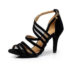 Zioso QJ7036 Women's Fashion Strappy Black Suede Ballroom... http://www.amazon.com/dp/B00VRNRP02/ref=cm_sw_r_pi_dp_FT3sxb1P539YT