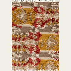 Jungalow Fable Camel and Sunset Rug by Justina Blakeney from The Jungalow