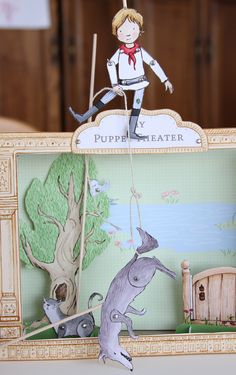 Peter and the Wolf Puppet Theater (FREE download) by Sarah Jane