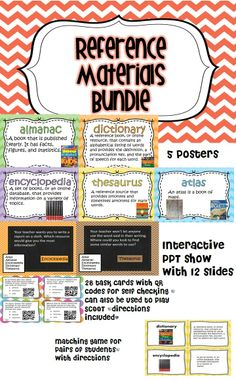 Interactive PPT presentation, 28 task cards with QR codes, matching game, and 5 posters