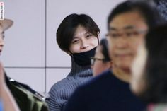 151011 airport, To Jeju ( for [The ShowKACE] New Korean wave concert beyond K-pop!) #Taemin #Shinee