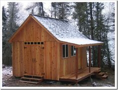 12x16 Shed Plans 12x16 Chalet Style Cabin Out