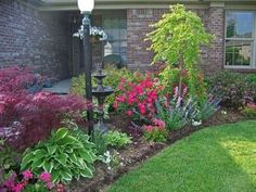 Stunning Front Yard Landscaping Ideas on A Budget 17