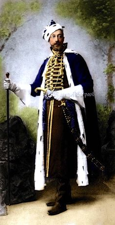 Grand Duke Konstantin Konstantinovich at the Winter Palace Costume Ball of 1903.