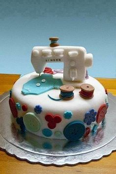 Cake Ideas For Craft Lovers