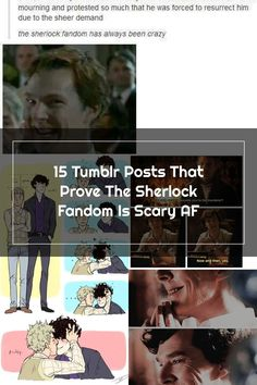 15 Tumblr Posts That Prove The Sherlock Fandom Is Scary AF