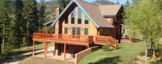 PRIVATE & CONVENIENT LOG HOME (15)