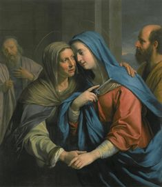 The Visitation / La Visitación // ca. 1643 // Philippe de Champaigne // Seattle Art Museum