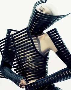 63 Examples of Skeletal Fashion #Fashion #Skeleton www.trendhunter.com