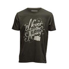 T-Shirt NEVER STOP Never, Photographers, Organic Cotton, Stylish, Prints, Mens Tops, T Shirt, Supreme T Shirt