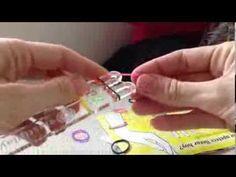 Cómo hacer pulseras con gomitas de colores