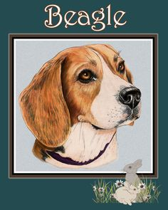12x15 Beagle Glass cutting board by TheCopperMare on Etsy