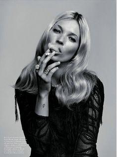 Kate Moss by Alasdair McLellan.