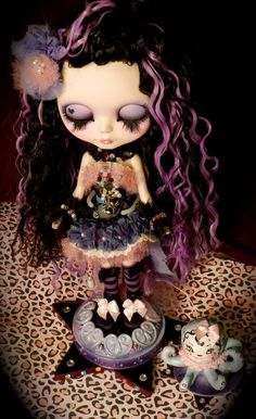 Blythe Doll, lovin' the purple highlights