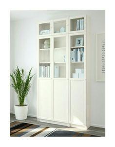 b cherregal billy oxberg wei b cherregale ikea und. Black Bedroom Furniture Sets. Home Design Ideas