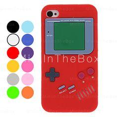 USD   3.05 - Unique Retro Gamepad Style Silicone Soft Case for iPhone 4 4S 535075c769d