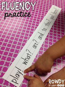 Rowdy in Room 300: Fluency practice!