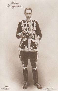 Crown Prince Wilhelm of Germany, eldest son of Kaiser Wilhelm II. - the first waltz: a historical photoblog
