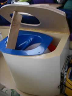 DIY urine separating composting toilet