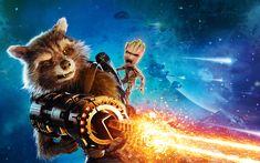 Rocket Guardians of the Galaxy Vol 2  4K 8K