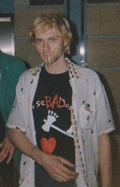Kurt Cobain, new rare pic