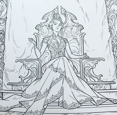 Feyre Darling, High Lady of the Night court (W/ out the ring, eye of Jurian) and the court of Dreams.  Amarantha, under the mountain. ACOMAF ACOWAR ACOTAR Sarah J. Maas