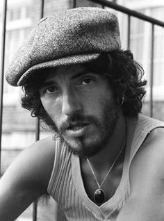 """It's a sad man my friend who's livin' in his own skin and can't stand the company."" • Bruce Springsteen"