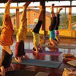 Yoga India - AyurYoga offers the best yoga courses in India at an 18 acre riverside Organic Farm. Yoga Ashram in India also offers spritual and ayurveda retreats.