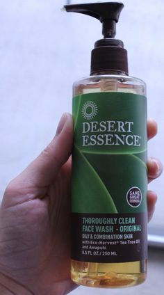 """Aw, thanks! """"Desert Essence thoroughly clean face wash w/ Awapuhi & Tea Tree oil. Best. Face wash. Ever."""""""