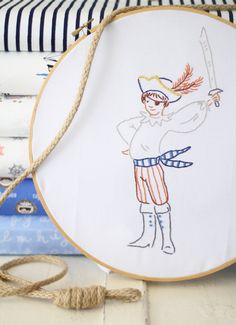 Sarah Jane Embroidery Pattern  #embroidery #sarahjane #stitch