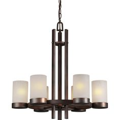 Found it at Wayfair - 6-Light Shaded Chandelier