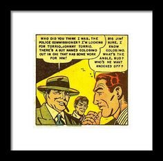 Popart Framed Print featuring the mixed media Crime And Punishment 2 by Otis Porritt