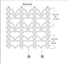 Crochetpedia: Crochet Patrones de la blusa 2