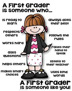 First Grade Poster – [someone who] A first grader is someone who poster! Teaching Tools, Teacher Resources, Teaching Kids, Teaching Biology, Classroom Behavior, Classroom Posters, Classroom Door, Future Classroom, Classroom Ideas
