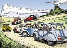 2 CV club • Citroën 2CV art                                                                                                                                                                                 Plus