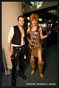 HAN SOLO & SEXY CHEWBACCA | SDCC 2012
