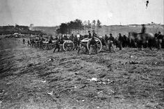 New 5x7 Civil War Photo: 1st Connecticut Battery Near Fredericksburg, Virginia