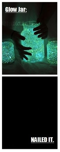 16. Glow Jar | 31 Horrendous Pinterest Fail Monstrosities