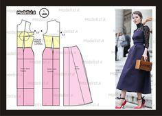 Modelagem vestido. Fonte: https://www.facebook.com/photo.php?fbid=559981960704380=a.426468314055746.87238.422942631074981=1